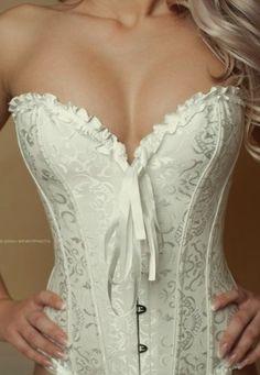 Trying On Wedding Night Lingerie/ Underwear Belle Lingerie, Pretty Lingerie, Wedding Lingerie, Beautiful Lingerie, Sexy Lingerie, Wedding Corset, Bridal Corset, Wedding Undergarments, White Lingerie