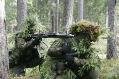 Snipers from Serbian Special Forces