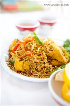singapore-rice-noodles-recipe #Noodles #Dinner #Pasta