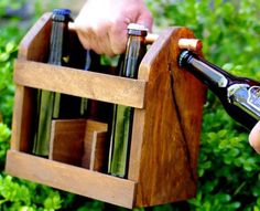it's about time i built a beer caddy don't you think?