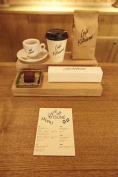 Kitsuné vient d'ouvrir un café á Paris! Au menu, patisseries from NoGlu et jus de Bob juice bar... Goooo
