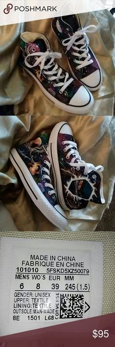 Sz 6 Doctor Who high top Converse New in perfect condition ready to make that time travel. Converse Shoes