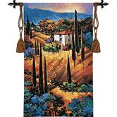 Found it at Wayfair - Cityscape, Landscape, Seascape Hills of Tuscany Tapestry