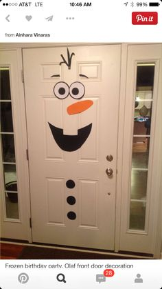 We wanted to build a snowman!