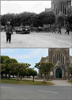 The Church at Sainte Marie-du-Mont, Normandy – © Ian R Gumm, 2014