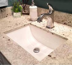 Nantucket Ceramic Undermount Vanity Undermount Bathroom Sink, Bathroom Sink Vanity, Bathroom Faucets, Contemporary Bathroom Sinks, Mid Century Bathroom, Bathroom Plans, Ceramic Sink, Kitchen Themes, Florida Home