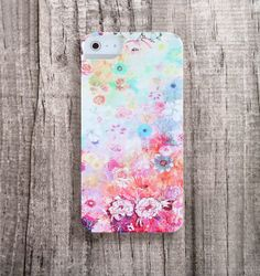FLORAL iPhone 4 Case ombre iPhone5 Case Floral by casesbycsera, $29.99