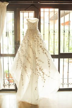 Carolina Herrera dress | Orange Turtle Photography