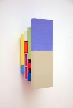 Tilman, 21.12, 2012, enamel on aluminum, 10.25 x 4 x 3.25...