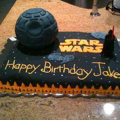 Death Star- Star Wars Cake