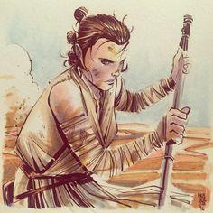 Awesome Art Picks: Rey, Daredevil, Captain Phasma, and More - Comic Vine