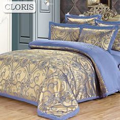 CLORIS Family Bedding Kit Moscow Supply Duvet Cover Jacquard Bed Linen Plaid Bedspread Bedclothes Best Cotton Satin Bedding Set. Yesterday's price: US $186.00 (154.05 EUR). Today's price: US $65.10 (53.43 EUR). Discount: 65%.