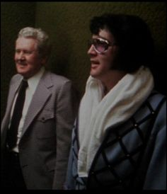 {*Elvis with his dad Vernon, Luv this pic they were So Close :( RIP*}