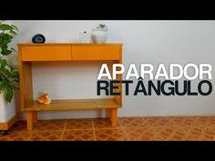 APARADOR RETÂNGULO | DIY - YouTube