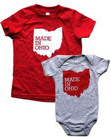 Cool shirt and I am from Ohio. Happens to be designed by a couple I graduated OSU design school with! Fun!