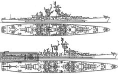 New Battleship, Deck Plans, Military Equipment, Model Ships, Building Plans, Us Navy, World War Ii, Military Vehicles, The Past
