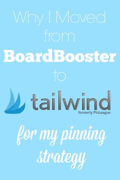 If you're a blogger you're probably using or considering using a pin scheduler. Here's why I decided to make the switch from BoardBooster to Tailwind.