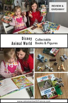 Disney Animal World Collectable Books & Figures - Take a look at what we thought of these books and toys :) Perfect for children into Disney! Becoming Mom, Disney Toys, Disney Disney, Phrase Of The Day, Starting School, Animals Of The World, Working Moms, Family Kids, Book Collection