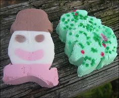 Ice cream novelties.  Best ones were from Hudsonville Ice Cream and were like sandwich cookies, only shapes.
