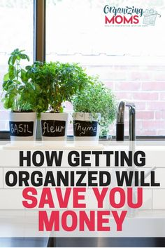 Getting organized an