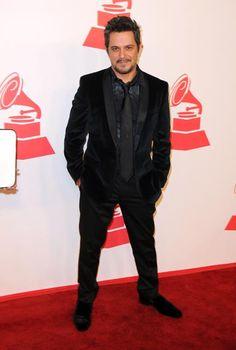 Alejandro Sanz, ayer en el homenaje a Caetano Veloso en la fiesta pre Grammy latinos