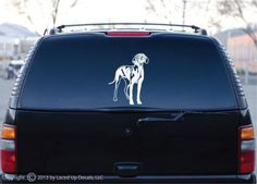 Vizsla Dog Vinyl Decal Large © 2013 by Laced by LacedUpDecals510