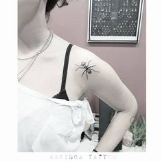 The Ant Feather http://instagram.com/karincatattoo #ant #tattoo #minimal #tattoos #small #karıncatattoo #littletattoo #tinytattoo #shouldertattoo #blacktattoo #shadowtattoo #tattooed #tattoogirl #tattoomodel #tattooidea #tattooartist #istanbul #kadıköy #acıbadem #dövme #dovmeci