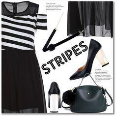 Big, Bold Stripes by svijetlana on Polyvore featuring moda, BoldStripes and zaful