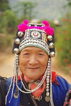 Akha woman, Thailand