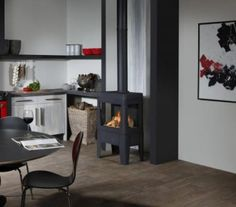 and there was fire New Homes, Furniture, Living Room, Gas Fireplace, Home, Interior, Home Appliances, Fireplace, Home Decor