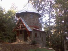 Hobbit House in Summer - hendersonville nc near asheville