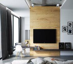 14 Wandgestaltung Ideen Aus Verschiedenen Materialien Für Jeden Raum #ideen  #jeden #materialien #