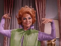 Bewitched (1964) Agnes Moorehead as Endora.