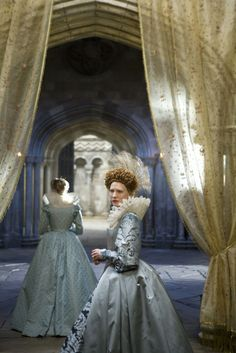Elizabeth The Golden Age (2007) -  Elizabeth 1st (Cate Blanchett) and Bess Throckmorton (Abbie Cornish)