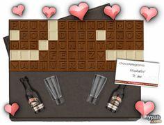 #RegalosAniversario Hacé tu chocotelegrama en www.chocotelegrama.com.ar Baileys, Chocolates, Original Gifts, Schokolade, Chocolate