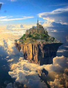 Floating cities. What would it be like to live in the clouds? What would you eat/see/hear? How would you travel?