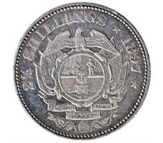 Silver Two and Half Shillings of South Africa of Johannes Paulus Kruger of mintage VF Rare Coins Worth Money, Coin Worth, World Coins, South Africa, Personalized Items, Silver, Money