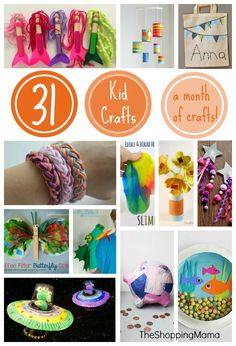 31 Kid Crafts to Cel