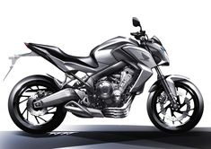 Honda cb 600 sketch