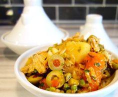 Moroccan Lemon Chicken Slow Cooker Recipe Crock Pot Slow Cooker, Slow Cooker Chicken, Slow Cooker Recipes, Real Food Recipes, Crockpot Recipes, Chicken Recipes, Cooking Recipes, Healthy Recipes, Duck Recipes