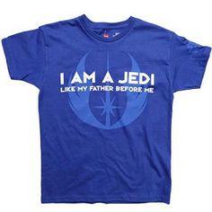 Disney Star Wars Weekends 2012 Shirt - Jedi Like My Father Before Me