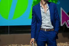 Cool Blue suit