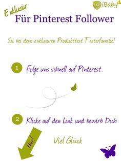 Bewirb Dich hier für den exklusiven Produkttest für Pinterest Follower! https://www.mibaby.de/Maxi-Cosi-Pebble-Plus-Test?adid=26362