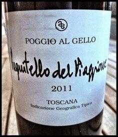 El Alma del Vino.: Podere Poggio al Gello Pugnitello del Piaggione 2011.