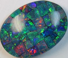 16.8 cts AAA + MOSAIC TOP CRYSTAL OPAL USE TO MAKE THESE MOSAICS C8417   opal chips, opal chips , mosaic  fire opal ,