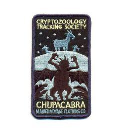 Kryptozoologie Tracking Gesellschaft: CHUPACABRA Patch