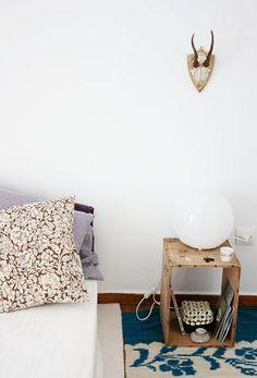 你需要床頭櫃嗎? 東西不多的你, 是不是用木箱代替就好    by angelica (Greece)