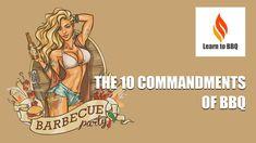 The 10 Commandments of BBQ (Barbecue) - Funny