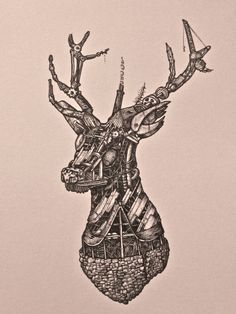 MS - Day 5 (Stag Head)