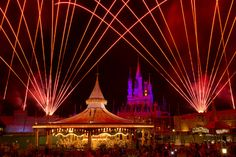 Fireworks over Cinderella Castle, Mickeys PhilharMagic and the Prince Charming Regal Carrousel at Magic Kingdom Park
